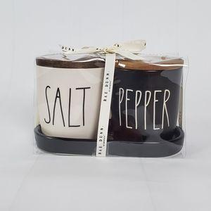 Rae Dunn 2 Piece Salt and Pepper Cellar